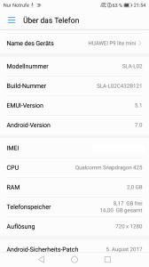 Huawei_P9lite_mini_tech_screen_auslieferungs