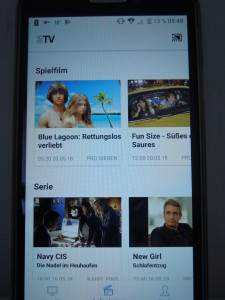 3TV Menü
