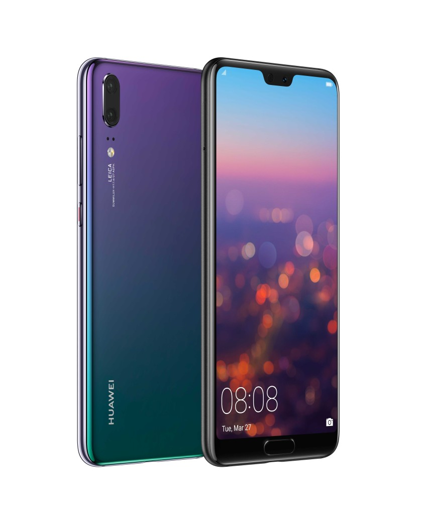 HUAWEI-P20 Pro-Twilight-Front-and-Back