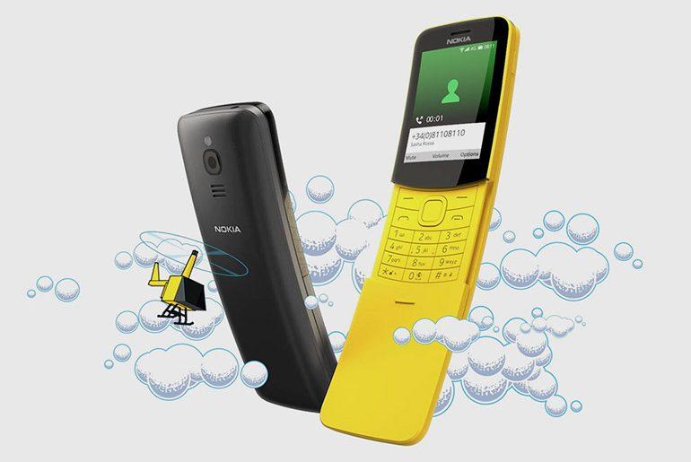 Nokia 8110 - die Rückkehr der Banane