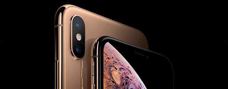 Detail: Kamera des iPhone Xs Max von Apple
