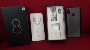 Xiaomi Mi8 Verpackung