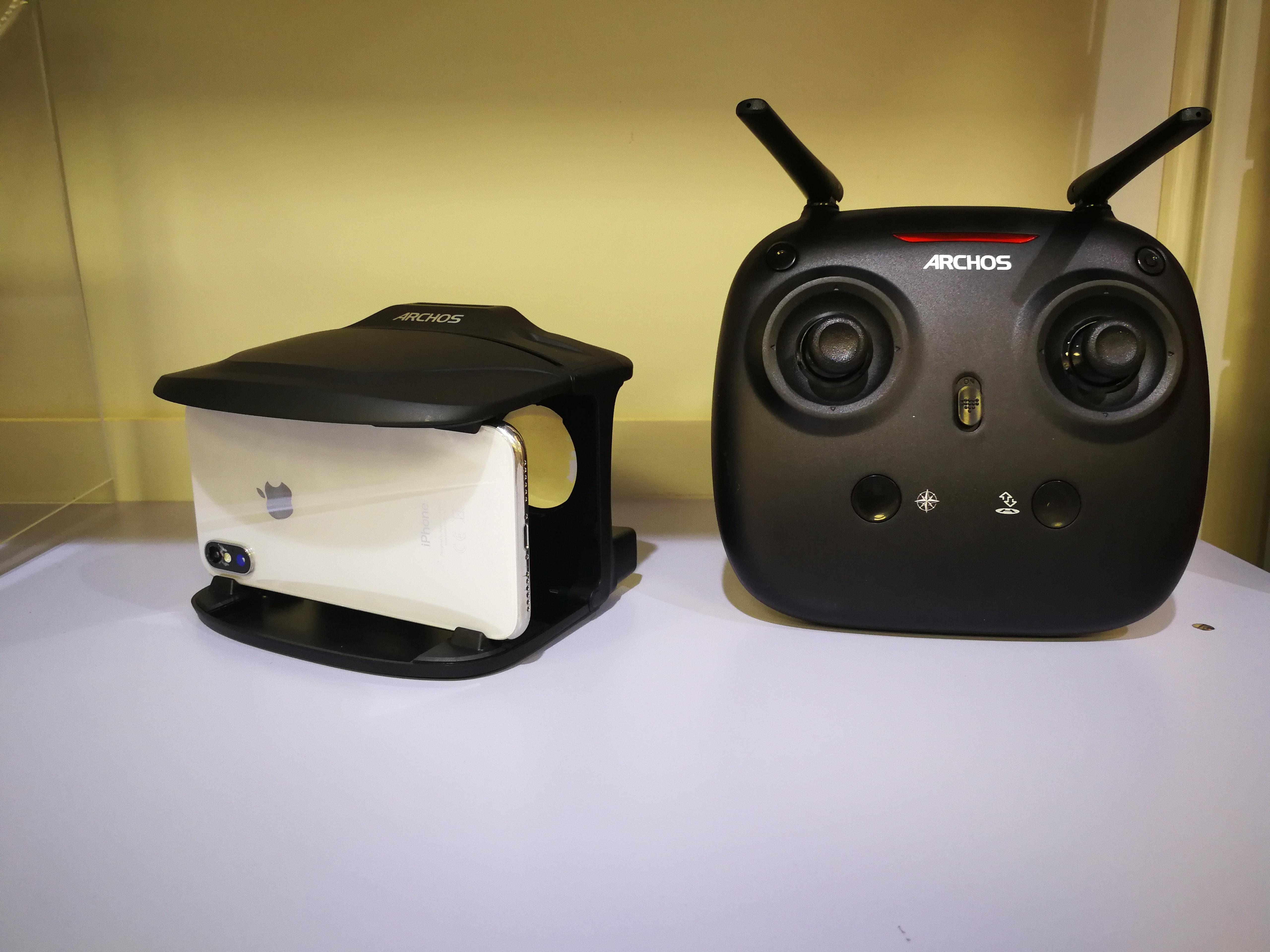 Vr Brille Lg G7 : Die archos drone vr im test handyexperte at