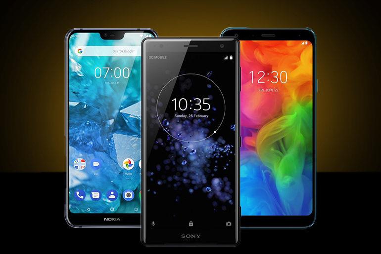 Top 5 Smartphones unter 500,-